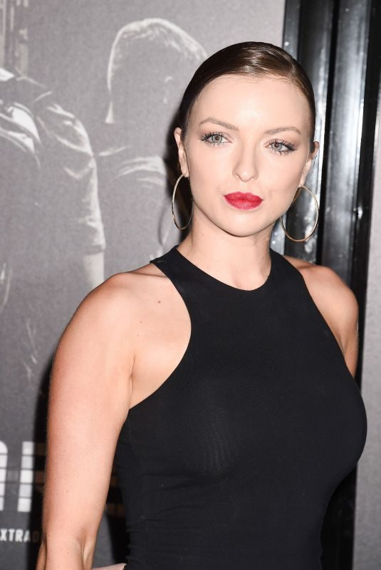 FRANCESCA EASTWOOD at The 15:17 to Paris Premiere in Los Angeles 02/05/2018