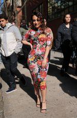 FRANCIA RAISA Arrives at Alice + Olivia Fashion Show at NYFW in New York 02/13/2018