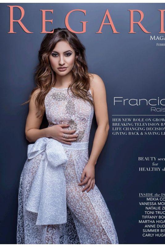 FRANCIA RAISA in Regard Magazine, February 2018 Issue