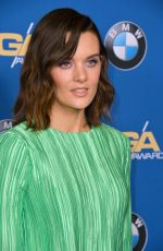 FRANKIE SHAW at 2018 Directors Guild Awards in Los Angeles 02/03/2018