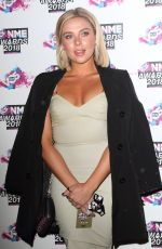 GABBY ALLEN at VO5 NME Awards 2018 in London 02/14/2018