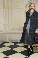 GABRIELLA WILDE Arrives at Christian Dior Show at Paris Fashion Week 02/27/2018