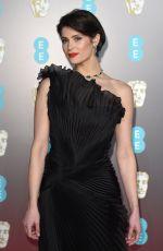 GEMMA ARTERTON at BAFTA Film Awards 2018 in London 02/18/2018