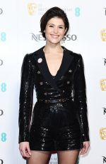 GEMMA ARTERTON at Bafta Nominees Party in London 02/17/2018