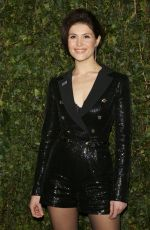 GEMMA ARTERTON at Charles Finch & Chanel Pre-bafta Party in London 02/17/2018