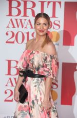 GEMMA ATKINSON at Brit Awards 2018 in London 02/21/2018