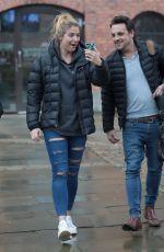 GEMMA ATKINSON Leaves Key 103 Radio in Manchester 02/19/2018
