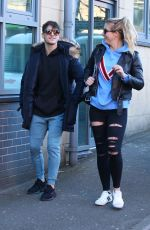 GEMMA ATKINSON Out and About in Nottingham 02/07/2018