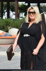 GEMMA COLLINS Out in Cape Verde 02/01/2018