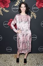 GENEVIEVE BUECHNER at Unreal and Mary Kills People Party in Los Angeles 02/13/2018