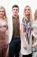 GEORGIA FOWLER at Amo Ferragamo Hosted by Suki Waterhouse at New York Fashion Week 02/06/2018