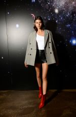 GEORGIA FOWLER at Zadig & Voltaire Show at New York Fashion Week 02/12/2018