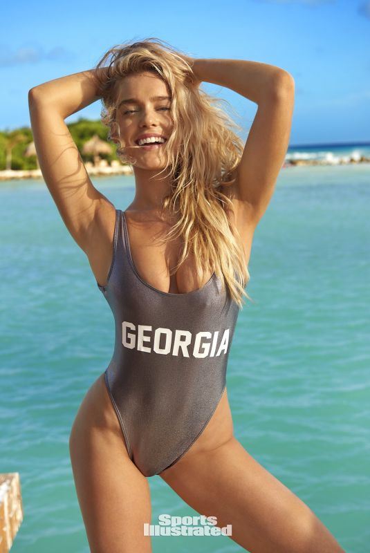 GEORGIA GIBBS in Sports Illustrated Swimsuit 2018 Issue