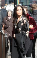 GEORGIA MAY FOOTE Out for Lunch in Manchester 02/23/2018