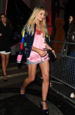GEORGIA TOFFOLO Arrives at Warner Music Brits After-party in London 02/21/2018
