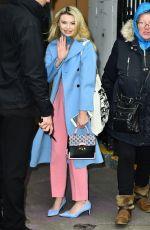 GEORGIA TOFFOLO Leaves ITV Studios in London 02/14/2018
