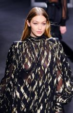 GIGI HADID at Alberta Ferretti Fall/Winter Show at Milan Fashion Week 02/21/2018