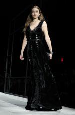 GIGI HADID at Bottega Veneta Catwalk at New York Fashion Week 02/09/2018