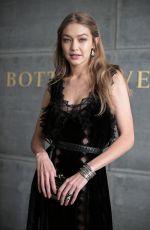 GIGI HADID at Bottega Veneta Show at New York Fashion Week 02/09/2018