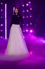 GIGI HADID at Brandon Maxwell Runway Show at New York Fashion Week 02/11/2018