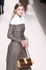 GIGI HADID at Fendi Fashion Show at MFW in Milan 02/22/2018
