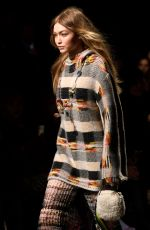 GIGI HADID at Missoni Fashion Show at MFW in Milan 02/24/2018