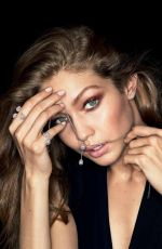 GIGI HADID for Messika's My Twin Jewelry 2018 Campaign