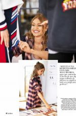 GIGI HADID in Hola! Fashion Magazine, Spain March 2018 Issue