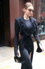 GIGI HADID Leaves Her Apartment in New York 02/11/2018