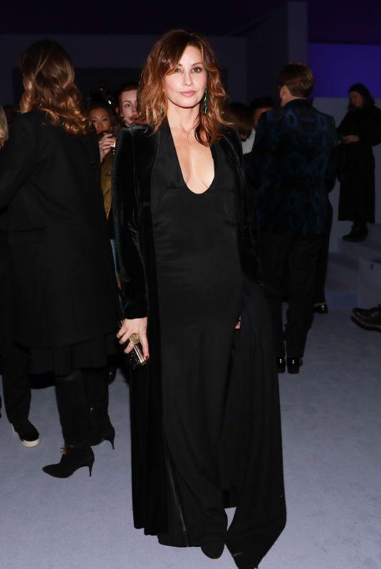 GINA GERSHON at Tom Ford Fashion Show at New York Fashion Week 02/08/2018