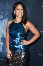 GINA RODRIGUEZ at Annihilation Premiere in Los Angeles 02/13/2018