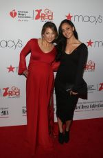 GINGER ZEE at Go Red for Women Red Dress Collection 2018 Presented by Macy's in New York 02/08/2018
