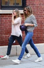GISELE BUNCHEN Out and About in New York 02/21/2018