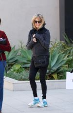 GOLDIE HAWN Out Shopping in Brentwood 02/24/2018