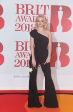 GRACE CHATTO at Brit Awards 2018 in London 02/21/2018