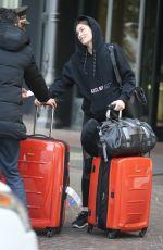 GRACE ELIZABETH Arrives at Her Hotel in Milan 02/20/2018