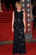 GRETA GERWIG at BAFTA Film Awards 2018 in London 02/18/2018