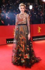 GRETA GERWIG at Isle of Dogs Premiere at 68th Berlinale 02/15/2018