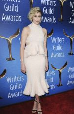 GRETA GERWIG at Writers Guild Awards 2018 in Beverly Hills 02/11/2018
