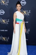GUGU MBATHA-RAW at A Wrinkle in Time Premiere in Los Angeles 02/26/2018