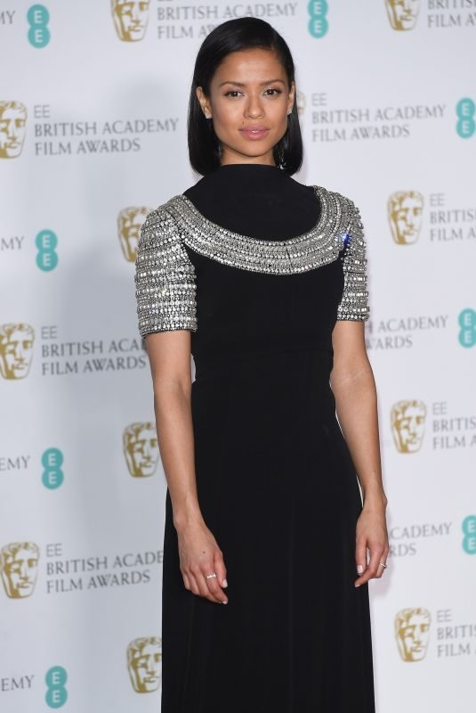 GUGU MBATHA-RAW at BAFTA Film Awards 2018 in London 02/18/2018