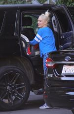 GWEN STEFANI Out and About in Los Angeles 02/16/2018