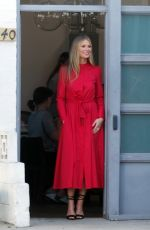 GWYNETH PALTROW on the Set of a Photoshoot in Los Angeles 02/07/2018