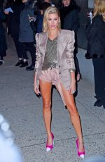 HAILEY BALDWIN Arrives at Tom Ford Fashion Show at New York Fashion Week 02/08/2018