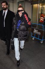 HAILEY BALDWIN at Linate Airport in Milan 02/23/2018