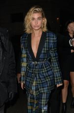 HAILEY BALDWIN at Warner Music Brits After-party in London 02/21/2018