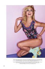 HAILEY BALDWIN in Elle Magazine, March 2018 Issue