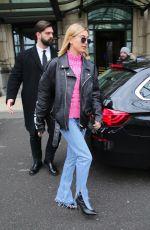 HAILEY BALDWIN Leaves Her Hotel in Milan 02/24/2018