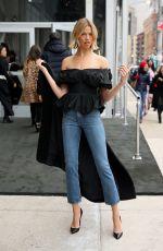 HAILEY CLAUSON at Jason Wu Fall/Winter 2018/19 Fashion Show at NYFW in New York 02/09/2018