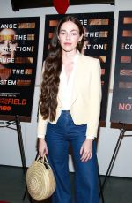 HAILEY GATES at Notes from the Field Special Screening in New York 02/21/2018